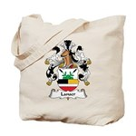Lanser Family Crest Tote Bag