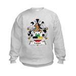 Lanser Family Crest Kids Sweatshirt