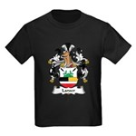 Lanser Family Crest Kids Dark T-Shirt