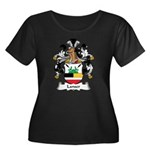 Lanser Family Crest Women's Plus Size Scoop Neck D