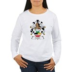 Lanser Family Crest Women's Long Sleeve T-Shirt