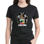 Lanser Family Crest Women's Dark T-Shirt
