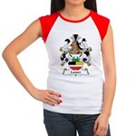 Lanser Family Crest Women's Cap Sleeve T-Shirt
