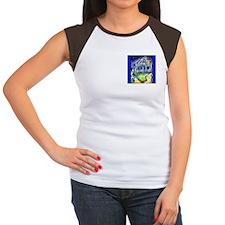 Van Gogh 2 Sided Women's Cap Sleeve T-Shirt