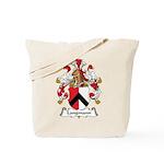 Langmann Family Crest Tote Bag