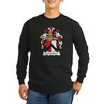 Langmann Family Crest Long Sleeve Dark T-Shirt