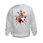 Langmann Family Crest Kids Sweatshirt
