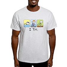 Triathlon Stick Figure T-Shirt