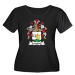 Langguth Family Crest Women's Plus Size Scoop Neck