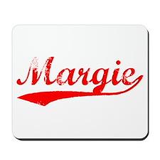 Vintage Margie (Red) Mousepad