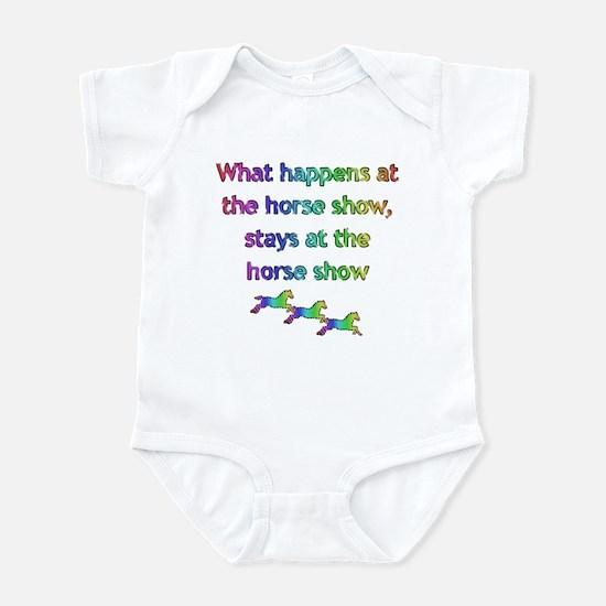 What happens at Infant Bodysuit