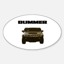 Bummer Oval Decal