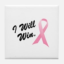 I Will Win (BC SS) Tile Coaster