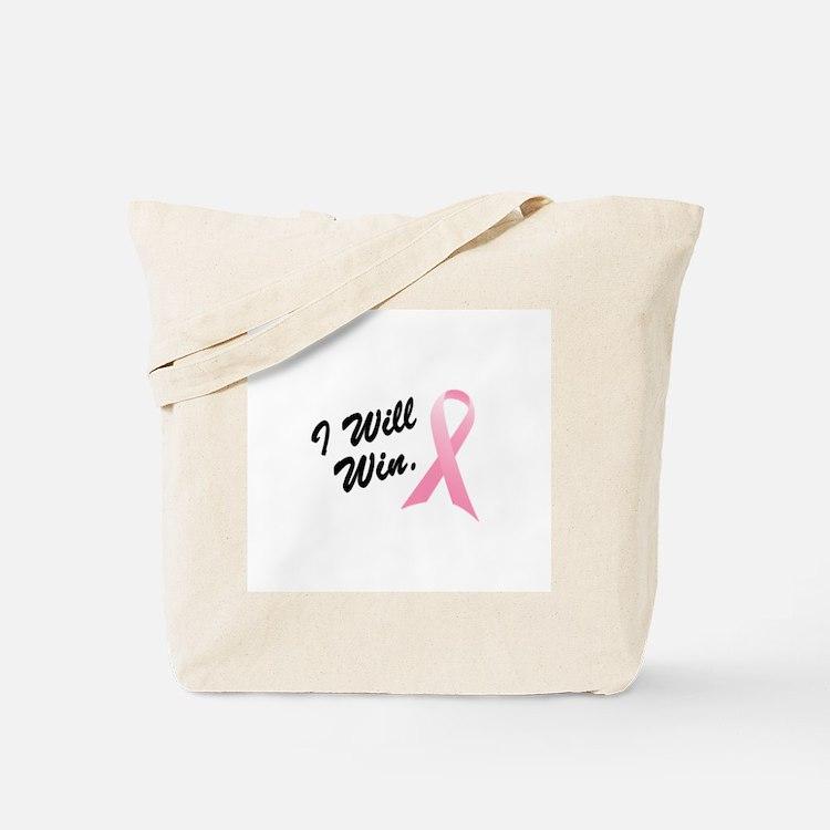 I Will Win (BC SS) Tote Bag