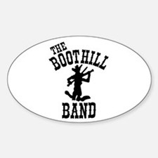 Boothill Band Oval Decal