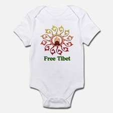 Free Tibet Candle Infant Bodysuit