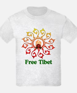 Free Tibet Candle T-Shirt