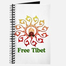 Free Tibet Candle Journal