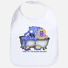 Help! Bubble Monster! Bib