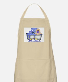 Help! Bubble Monster! BBQ Apron