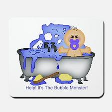 Help! Bubble Monster! Mousepad