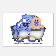 Help! Bubble Monster! Postcards (Package of 8)