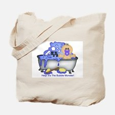 Help! Bubble Monster! Tote Bag