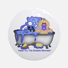 Help! Bubble Monster! Keepsake (Round)