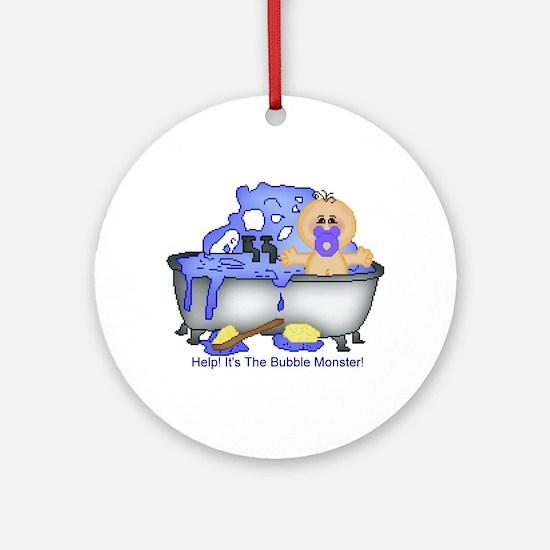 Help! Bubble Monster! Keepsake (Round)