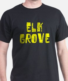 Elk Grove Faded (Gold) T-Shirt