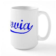 Vintage Monrovia (Blue) Mug