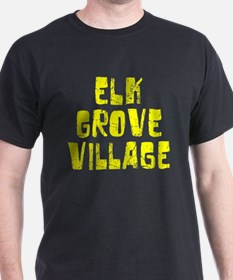 Elk Grove Vi.. Faded (Gold) T-Shirt