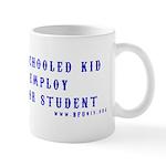 Home school teachers wake up mug