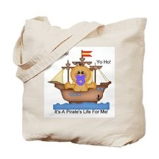 YoHo YoHo It's A Pirate's Life Tote Bag