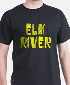 Elk River Faded (Gold) T-Shirt