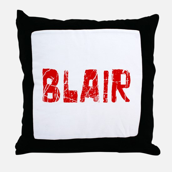 Blair Faded (Red) Throw Pillow
