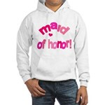Pink Kiss Maid of Honor Hooded Sweatshirt