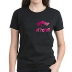 Pink Kiss Maid of Honor Women's Dark T-Shirt