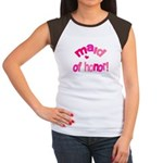 Pink Kiss Maid of Honor Women's Cap Sleeve T-Shirt