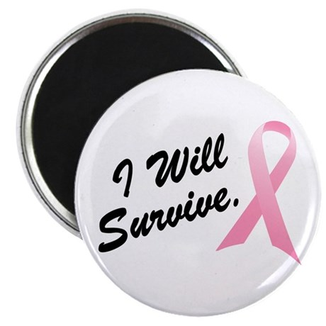 "I Will Survive (BC SS) 2.25"" Magnet (100 pack)"