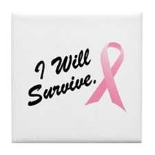 I Will Survive (BC SS) Tile Coaster
