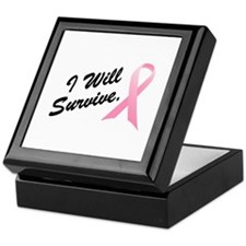 I Will Survive (BC SS) Keepsake Box