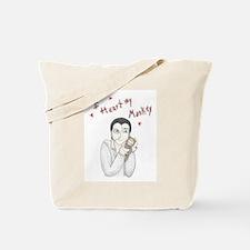 I heart my monkey Tote Bag