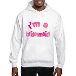 Pink Kiss Bridesmaid Hooded Sweatshirt