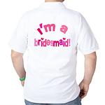 Pink Kiss Bridesmaid Golf Shirt
