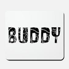 Buddy Faded (Black) Mousepad