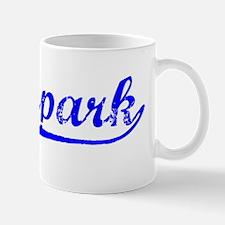 Vintage Moorpark (Blue) Mug