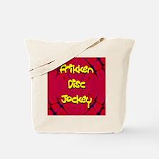 Frikken Disc Jockey Tote Bag
