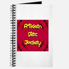 Frikken Disc Jockey Journal