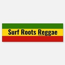 Surf Roots Reggae Bumper Bumper Bumper Sticker